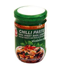 Chilli Paste W/Basil Leaves 200 Gr