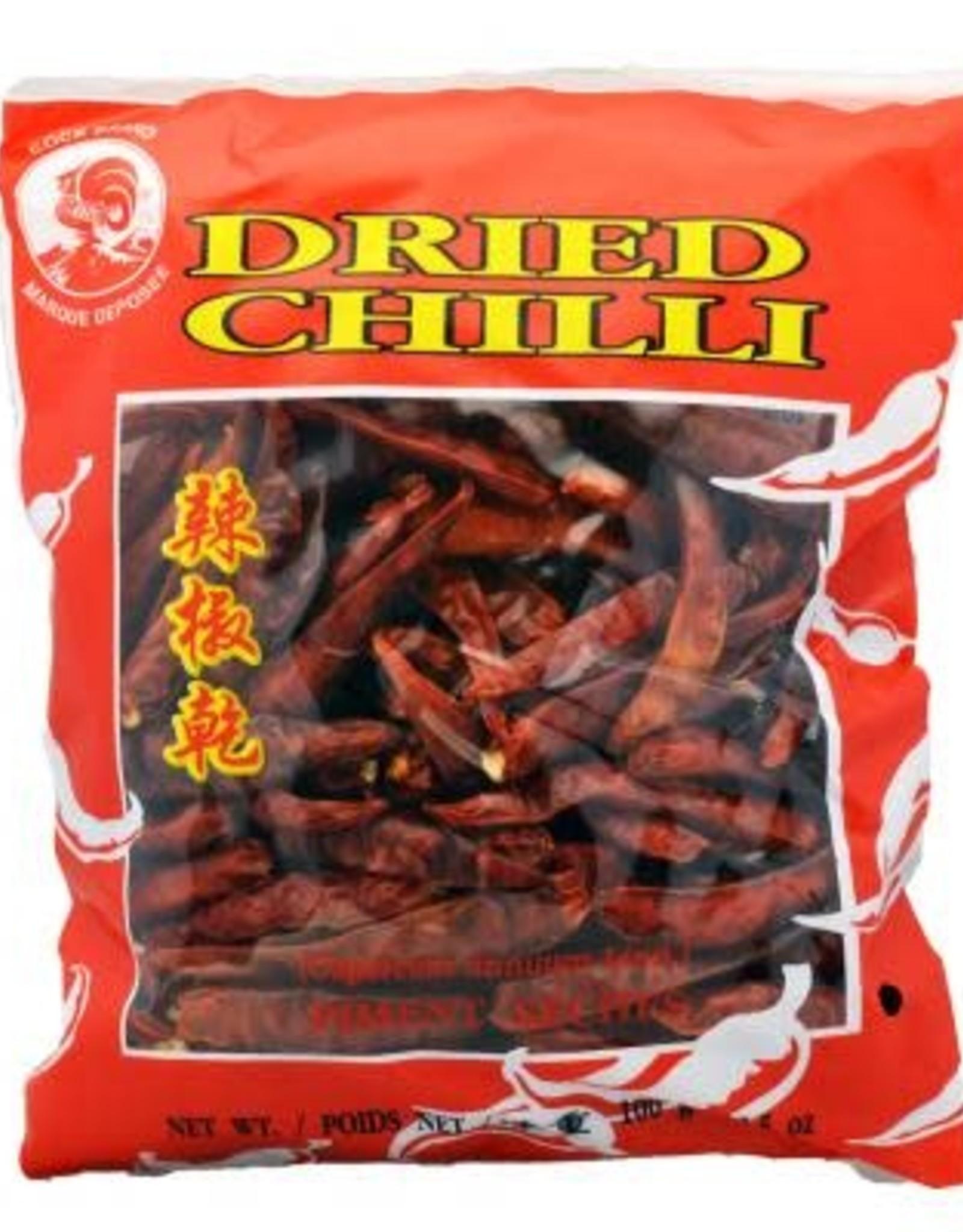 "Dried Chilli ""S"" W/O Stem Cock 100G"