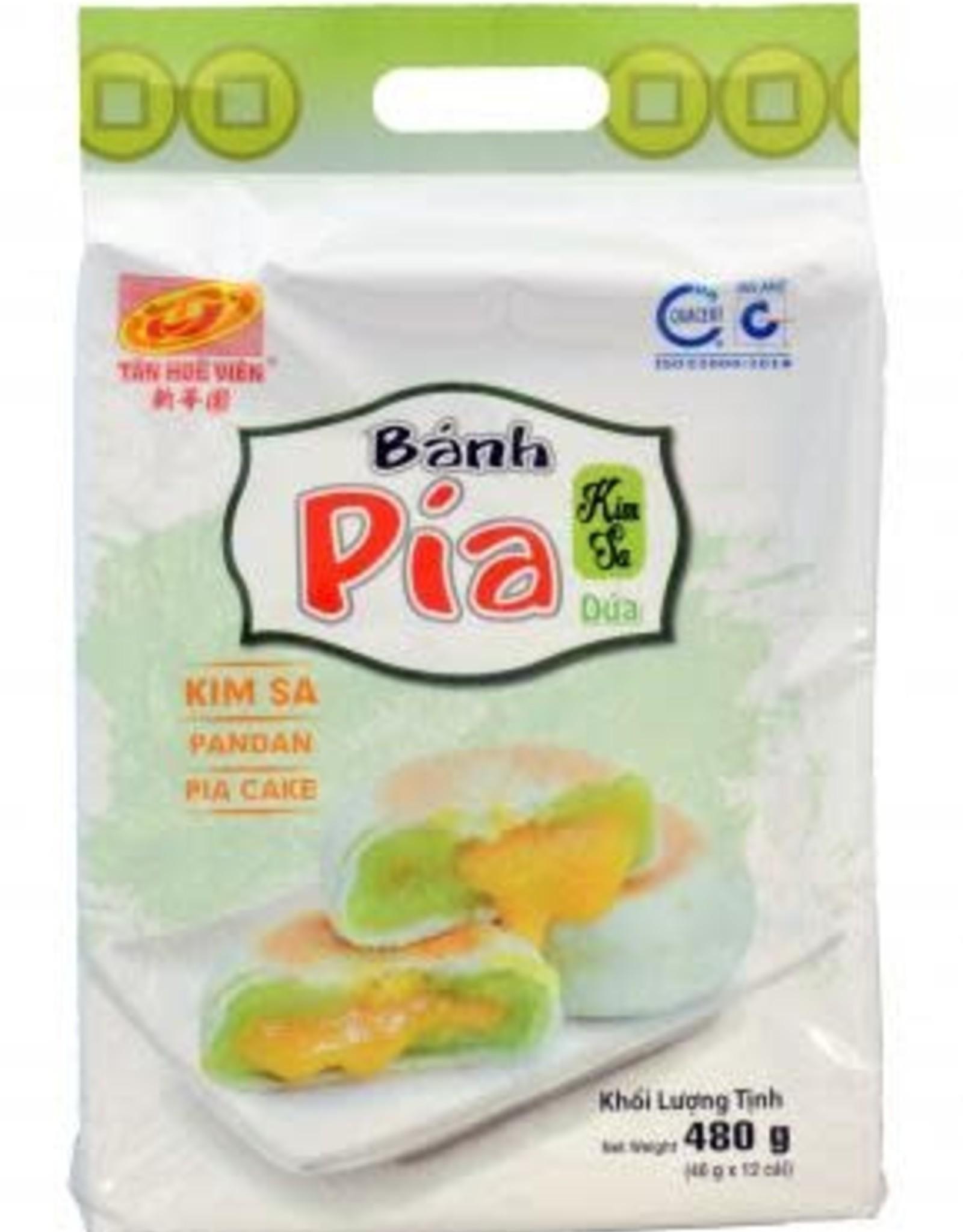 Pia Cake Liu Kim Sa Pandan Leaf 480G