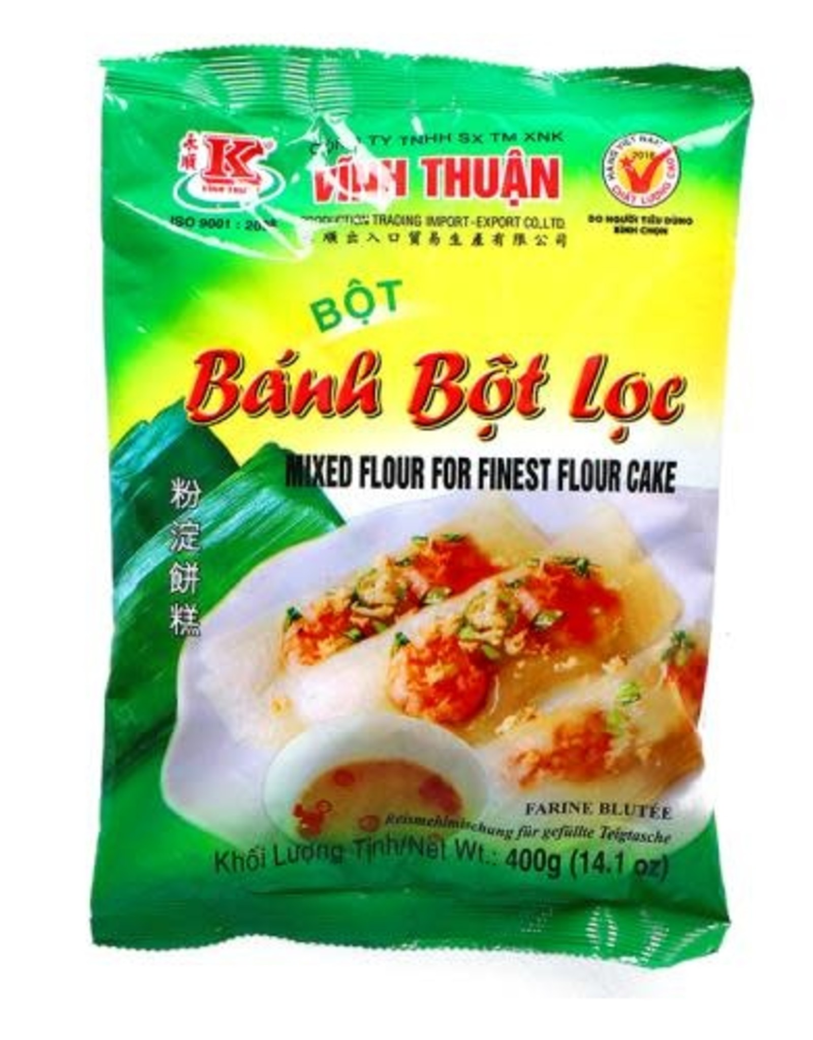 "Vt Fijn Bloem Cake ""Banh Bot Loc"" 400G"