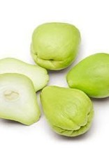 Chayote price/piece (€4/kg)