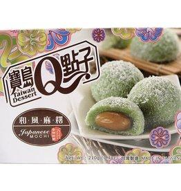 He Fong Coconut Pandan Mochi 210G