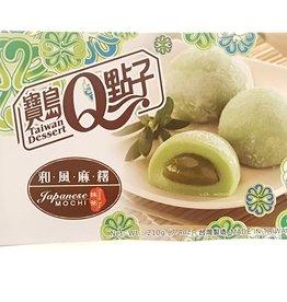 He Fong Green Tea Mochi 210G