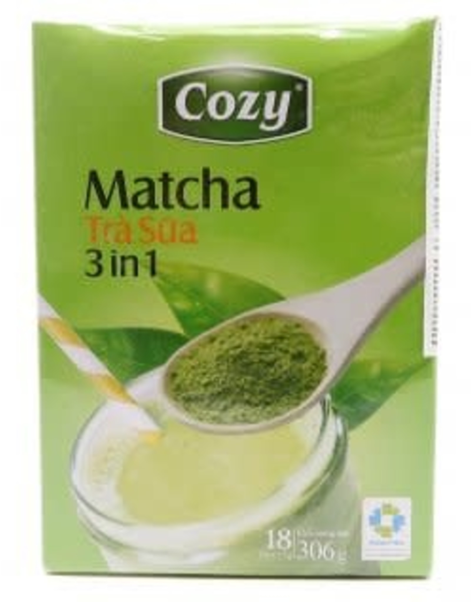 COZY Cozy Matcha Milk Tea 3-In-1 18X17G