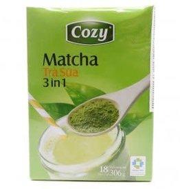 Trà Xanh Sữa Cozy 18X17G