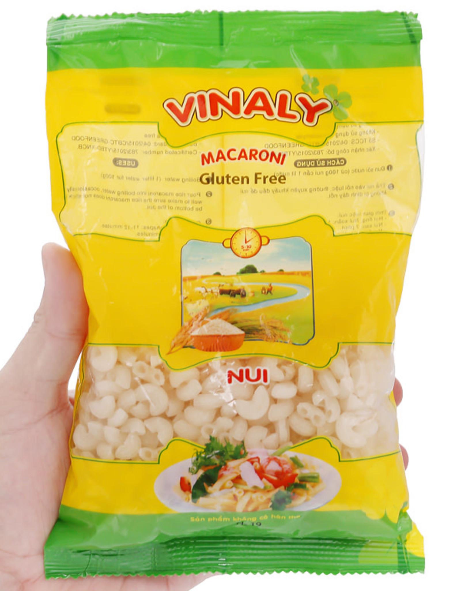 Vinaly Glutenfree Rice Macaroni Elbow 400G