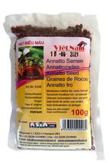 Viet Nam Anatto Seeds 100 Gr. Viet Nam