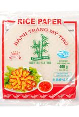 BAMBOO TREE Rijstpapier 22Cm.(Frituurd) R  400 Gr.  Bamboo Tree