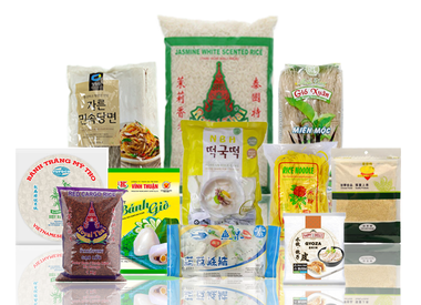 Noedels, rijst, rijstpapier, deeg & wraps