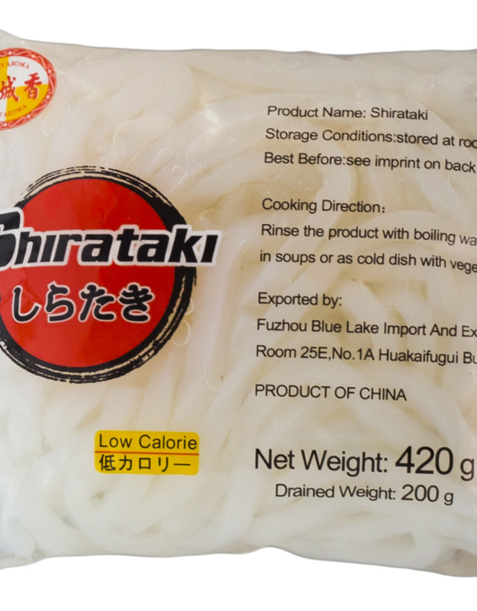 MINH DUONG Noodles Shirataki Udon Cityaroma 400G