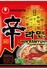 NONGSHIM Inst. Noodles Shin Ramyun  N.Shim 120G