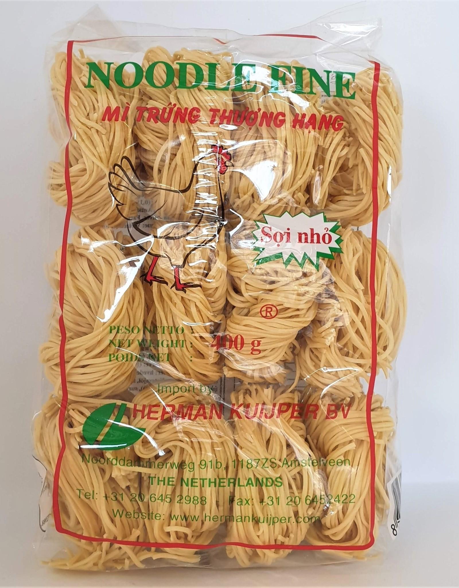 Thin Egg Noodle 400Gr
