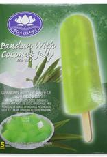 Bua Luang Pandan Ice Cream 5 Pieces
