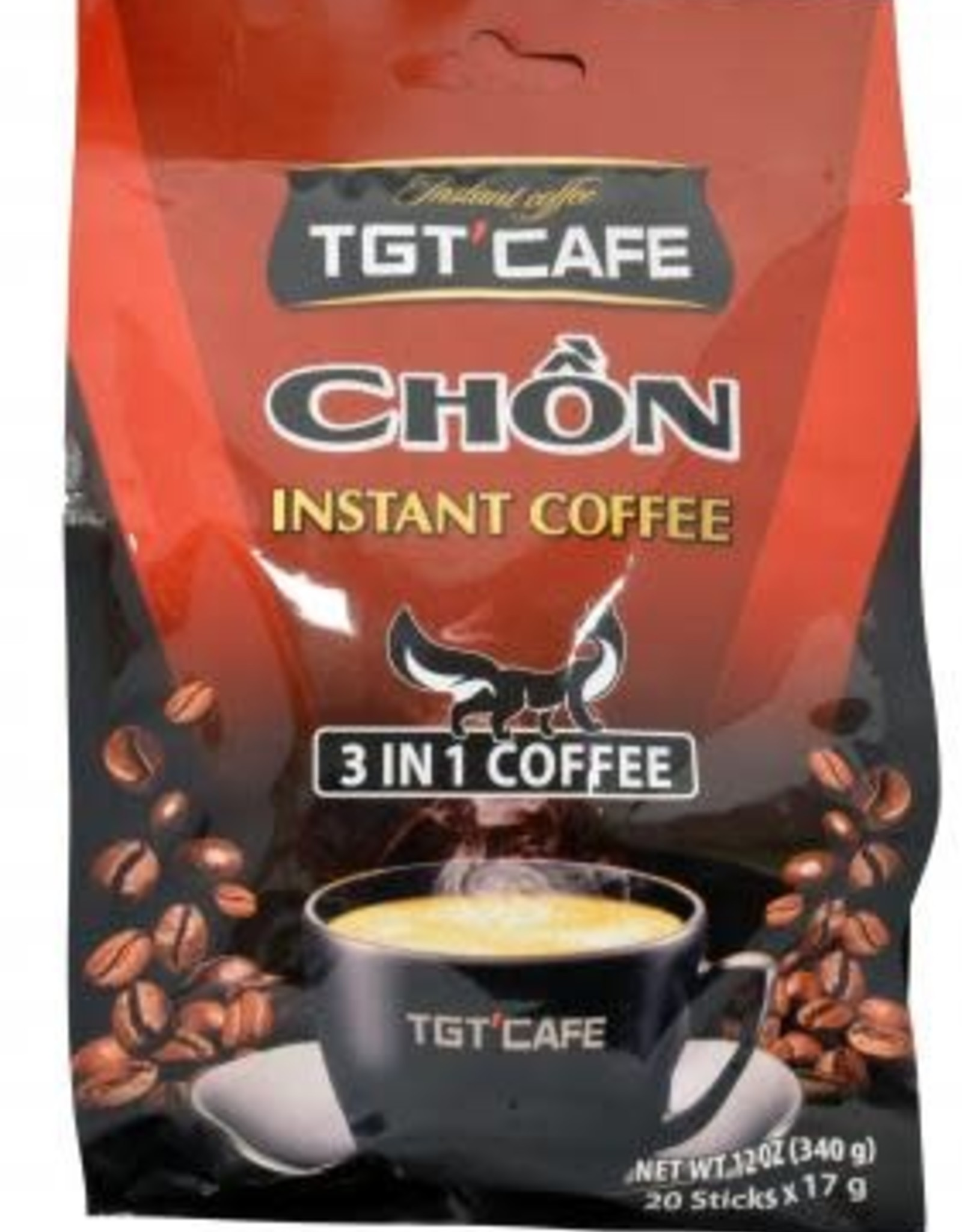 TGT Inst.Coffee 3 In 1 Chon 340 Gr