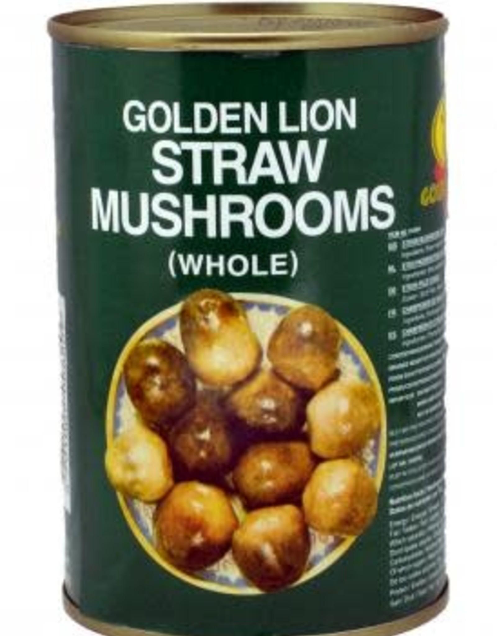 GOLDEN LION Straw Mushroom Golden Lion 425 Gr