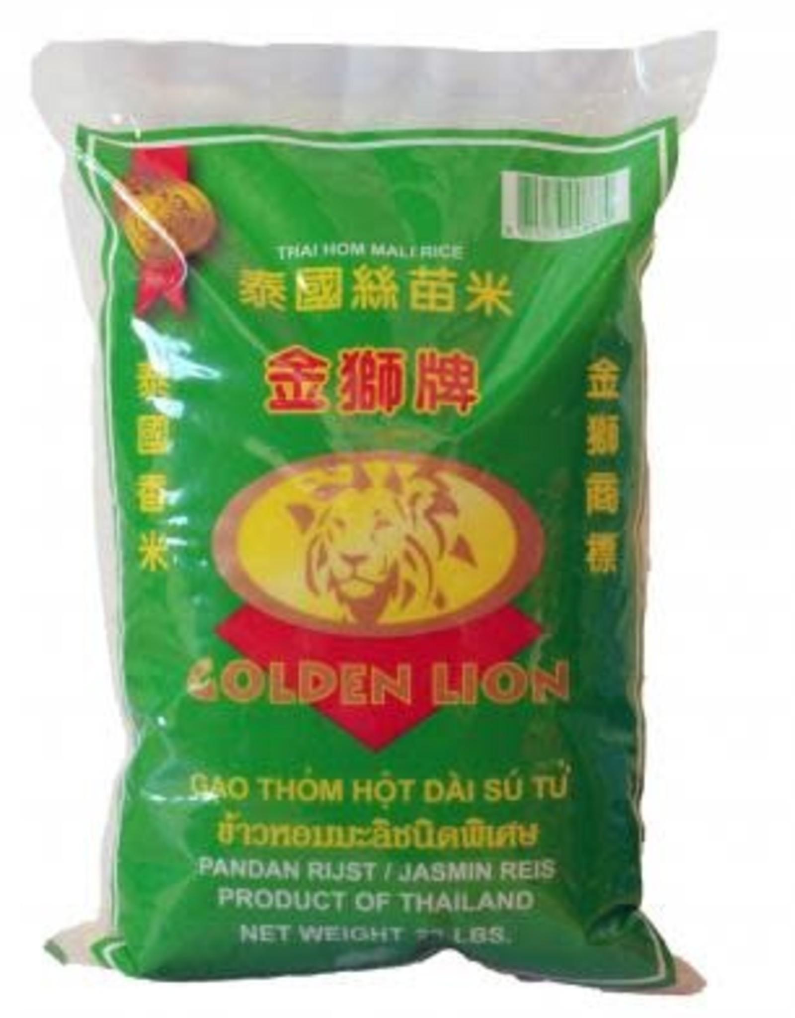 GOLDEN LION Rice Golden Lion Thai Jasmine 20Lbs (9Kg)