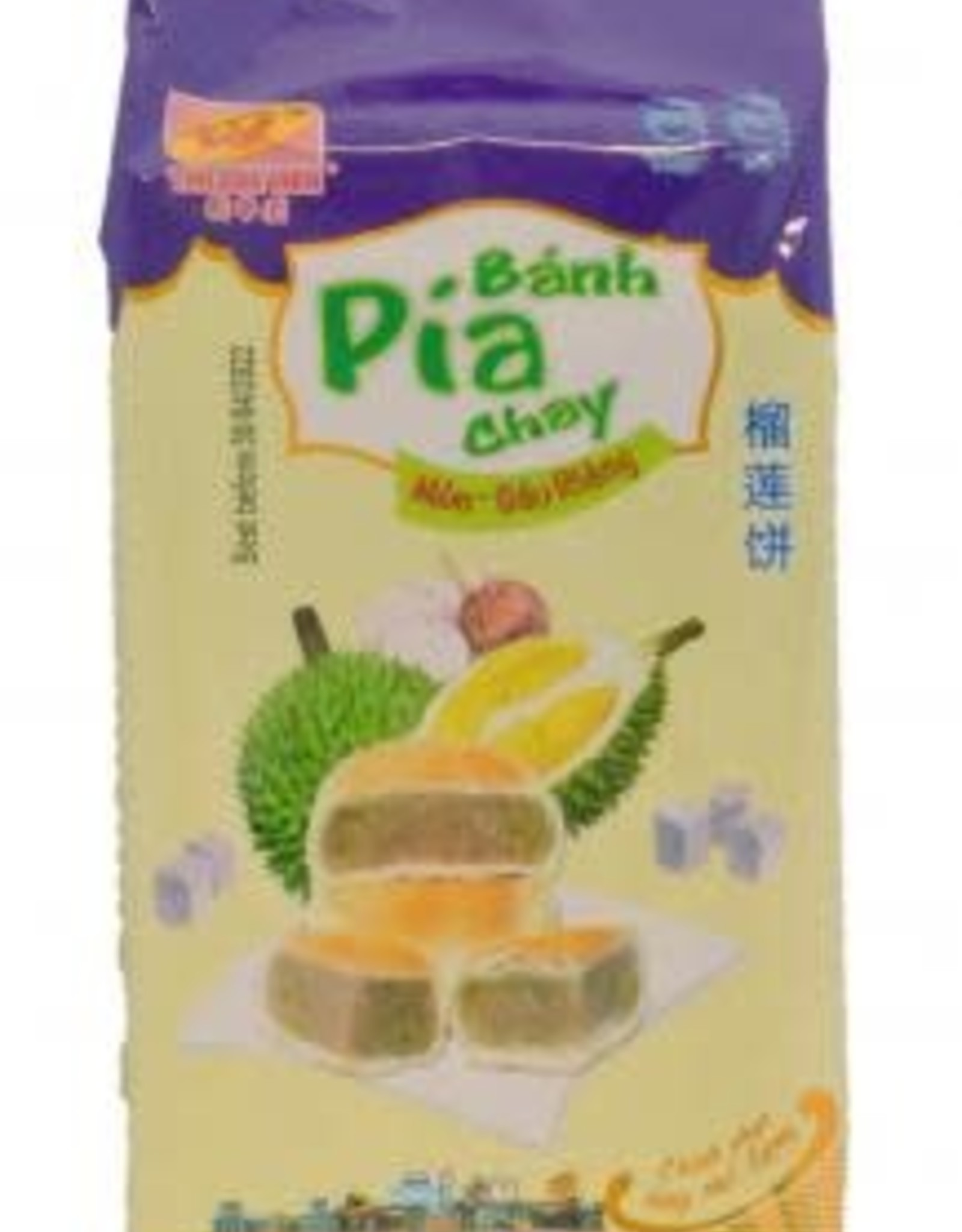 Tan Hue Vien Pia Cake Taro And Durian 400 Gr