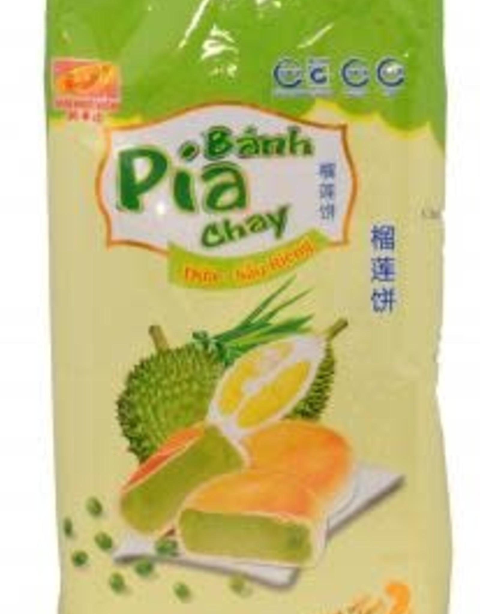 Tan Hue Vien Pia Cake Mung Bean Durian Pandan 400 Gr
