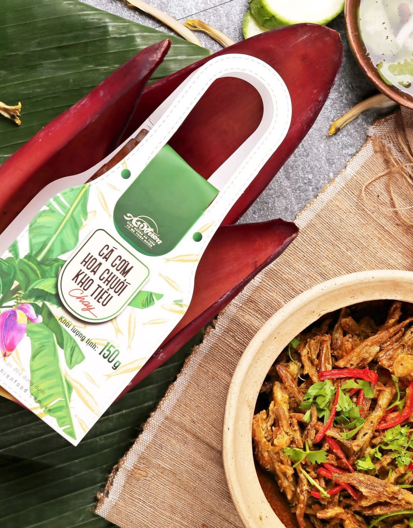 An Nhien Vegan Spicy Roasted Anchovy 150G