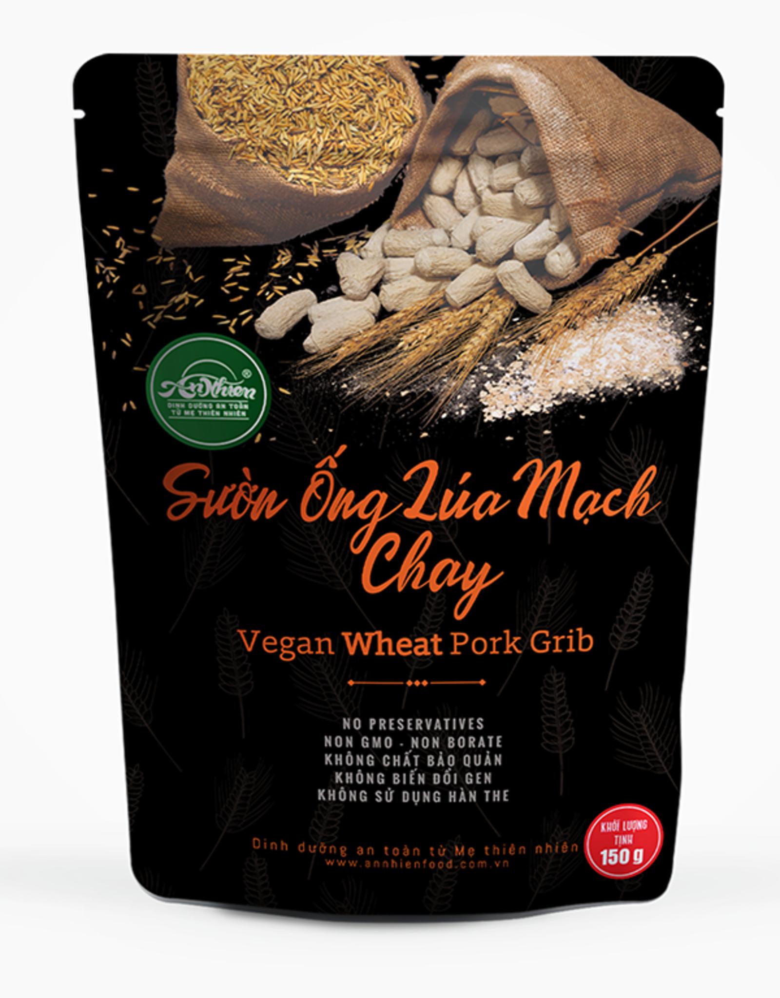 An Nhien Vegan Wheat Pork Ribs 150G
