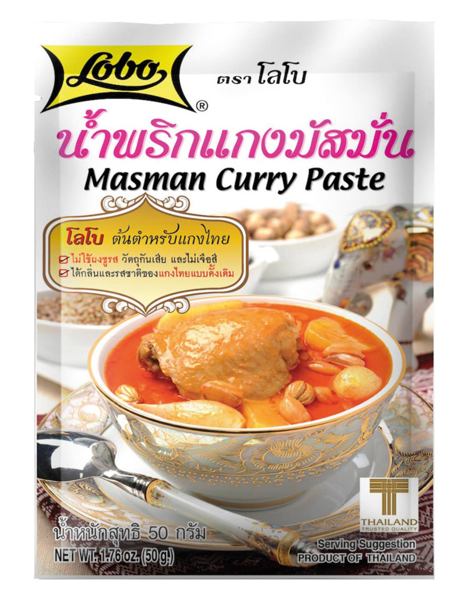 LOBO Kruidenpasta Masman Curry Lobo 50G