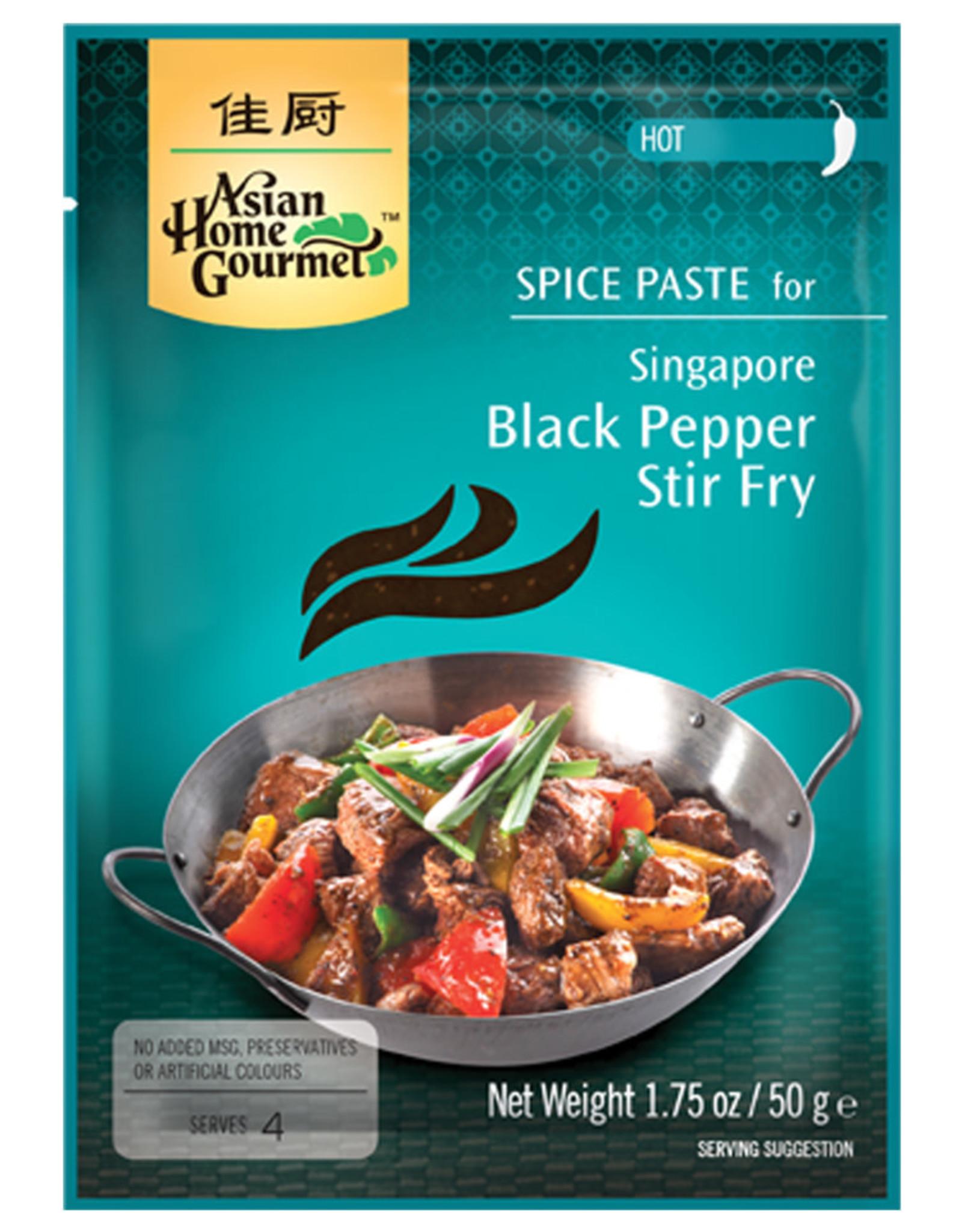 AHG Singaporees Zwarte Peper Roerbak Spice 50G