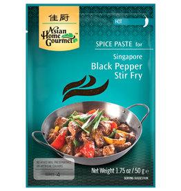 AHG Singaporean Black Pepper Stir-Fry Spice 50G