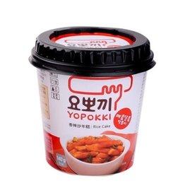 TOPOKKI Rice Cake Hot&Sp Halal Topokki Cup 140G