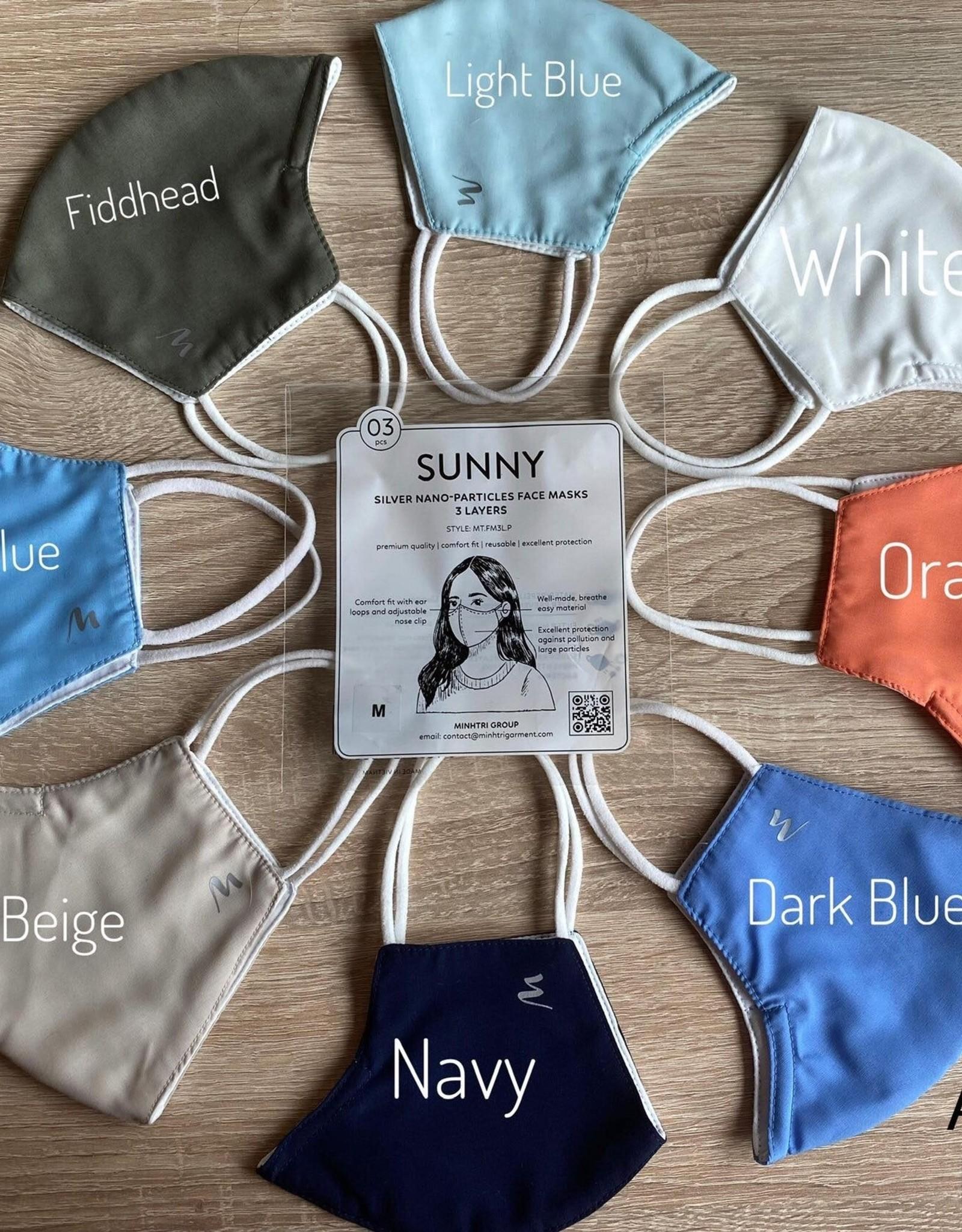 Sunny Mondkapje (Prijs/3 stuks)