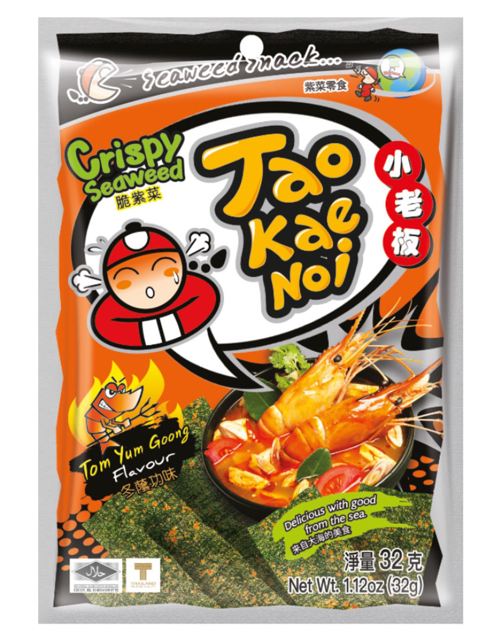 Zeewiersnack Tom Yum Goong Taokaenoi 32G