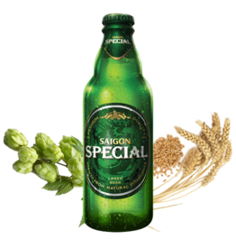 Saigon Beer Special 330ml (4.9% Alc)