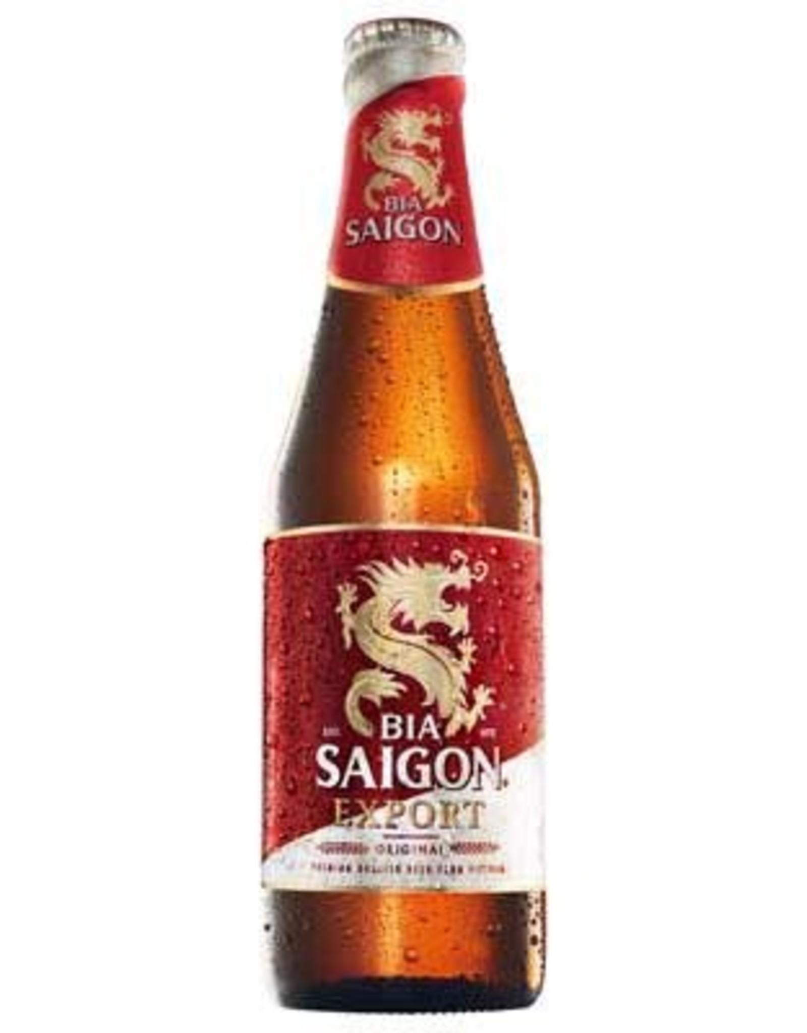 Bier 4,9% Alc. - Plato 355 Ml.  SAIGON (24f/Doos)