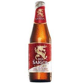 Beer 4,9% Alc. - Plato 355 Ml.  SAIGON (24b/Box)