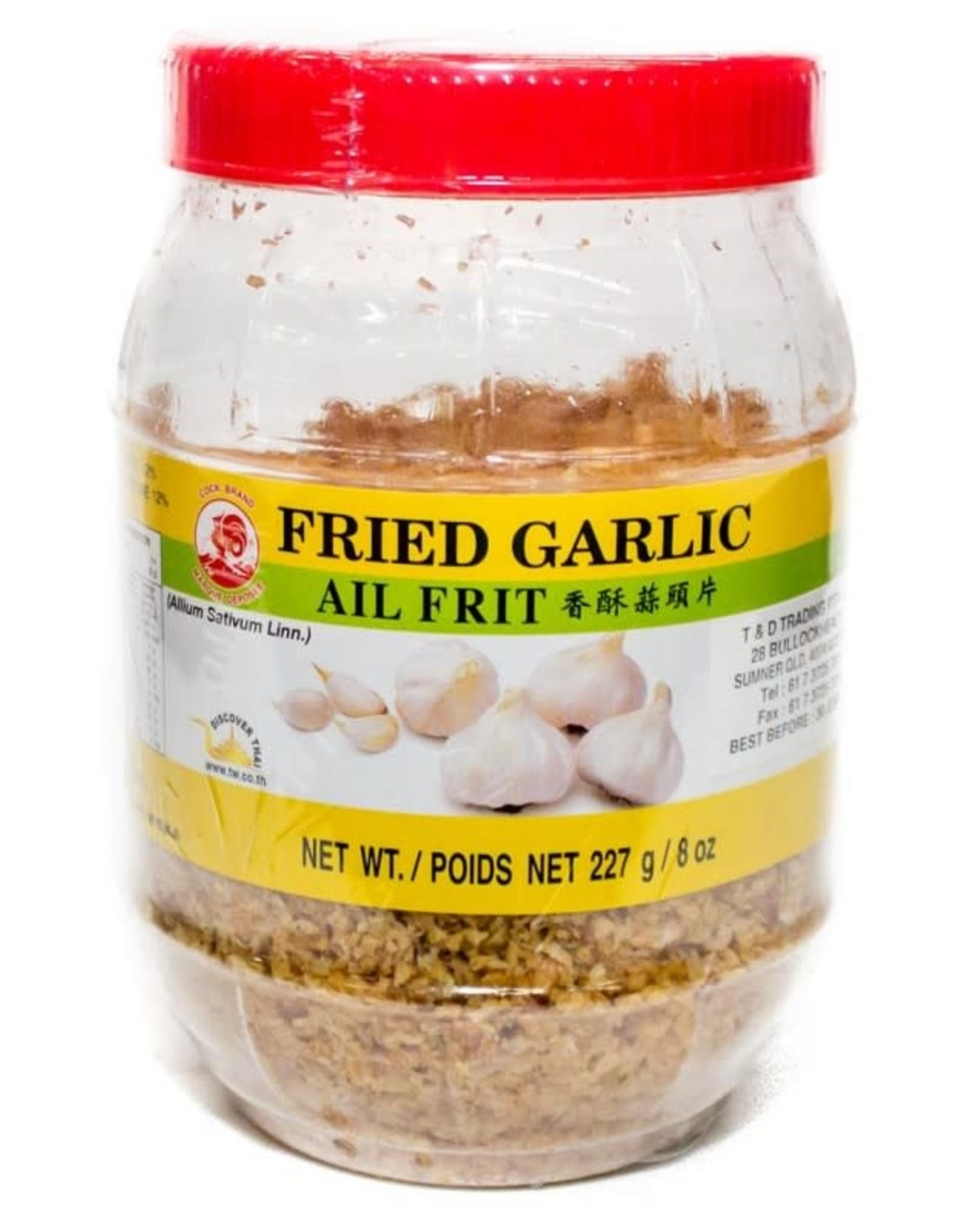 COCK Fried Pure Garlic Cock Brand 227GR