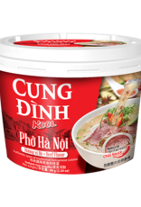 Cung Dinh Inst Rice Noodles Kool Brand - Pho Bo (Cup) 68g
