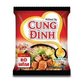 Cung Dinh Inst. Noedels - Gestoofd rundvlees 77g