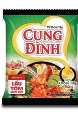 Cung Dinh Inst. Noodles - Hot & Sour Prawn Hot Pot 85g