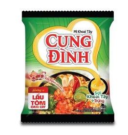 Cung Dinh Mì Lẩu Tôm Chua Cay Cung Đình 85g
