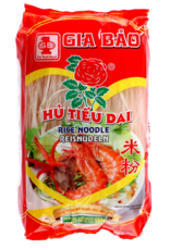 Gia Bao Rijstnoedel - Hu Tieu Dai - 2.5mm 500g