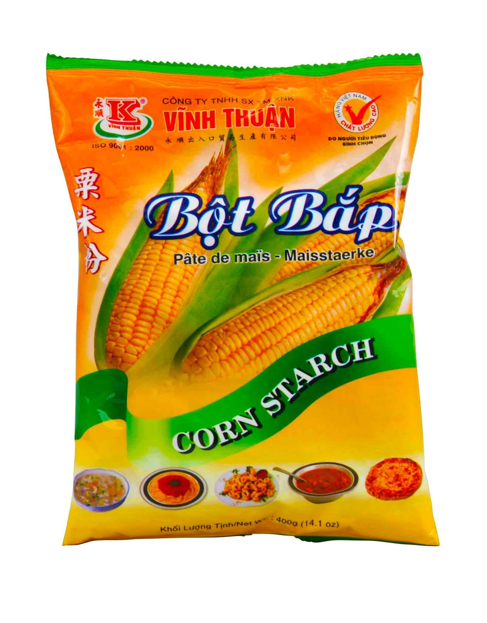 Vinh Thuan Bột Bắp Vĩnh Thuận 400g