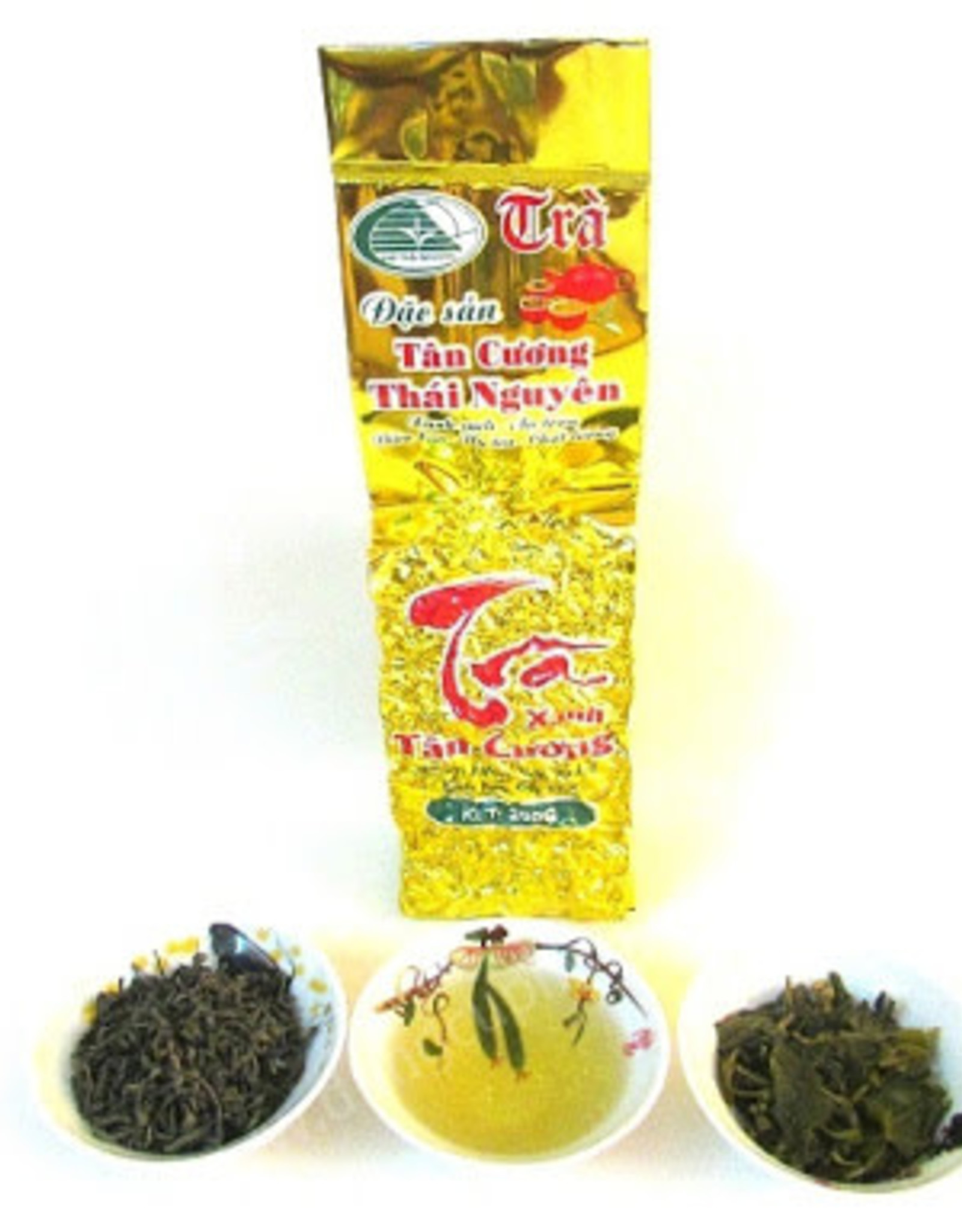 Tân Cương Green Tea Thai Nguyen 200g Tân Cương
