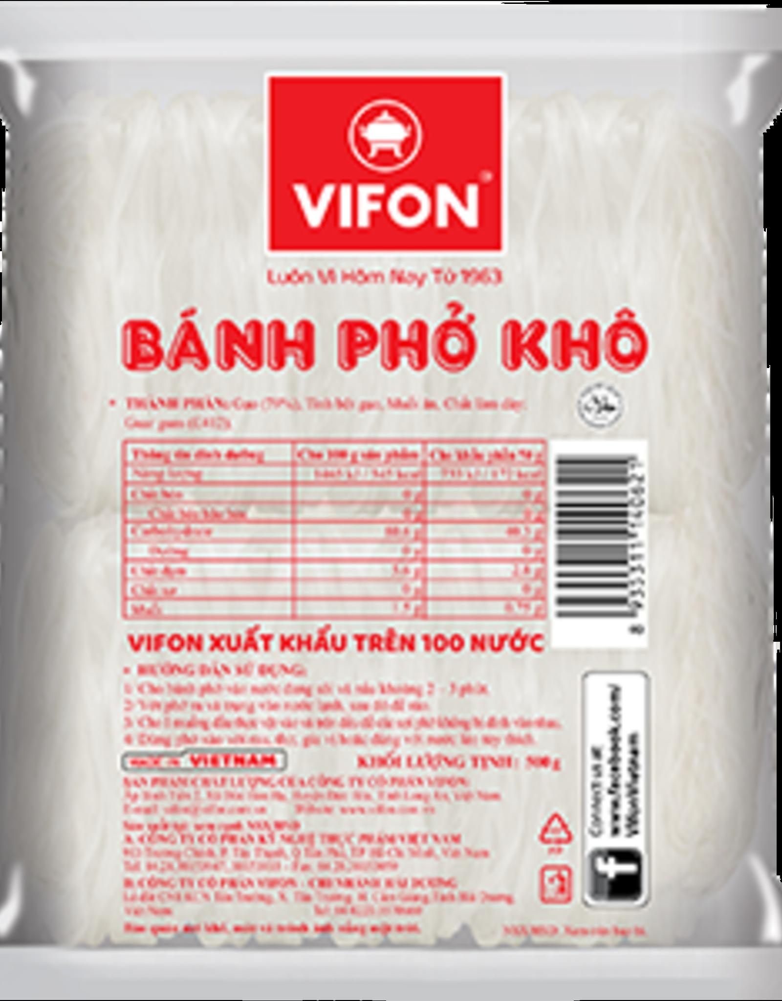 Vifon VIFON Rice Noodle Banh Pho Khô 3mm 500g