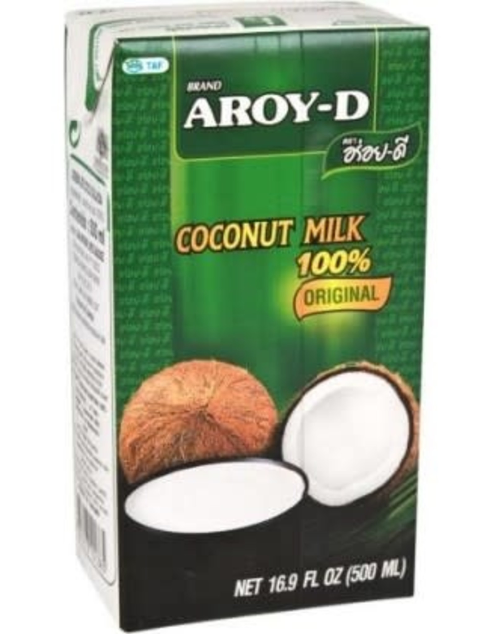 Aroy-D Aroy-D Kokosmelk 17.5% Vet 500ml
