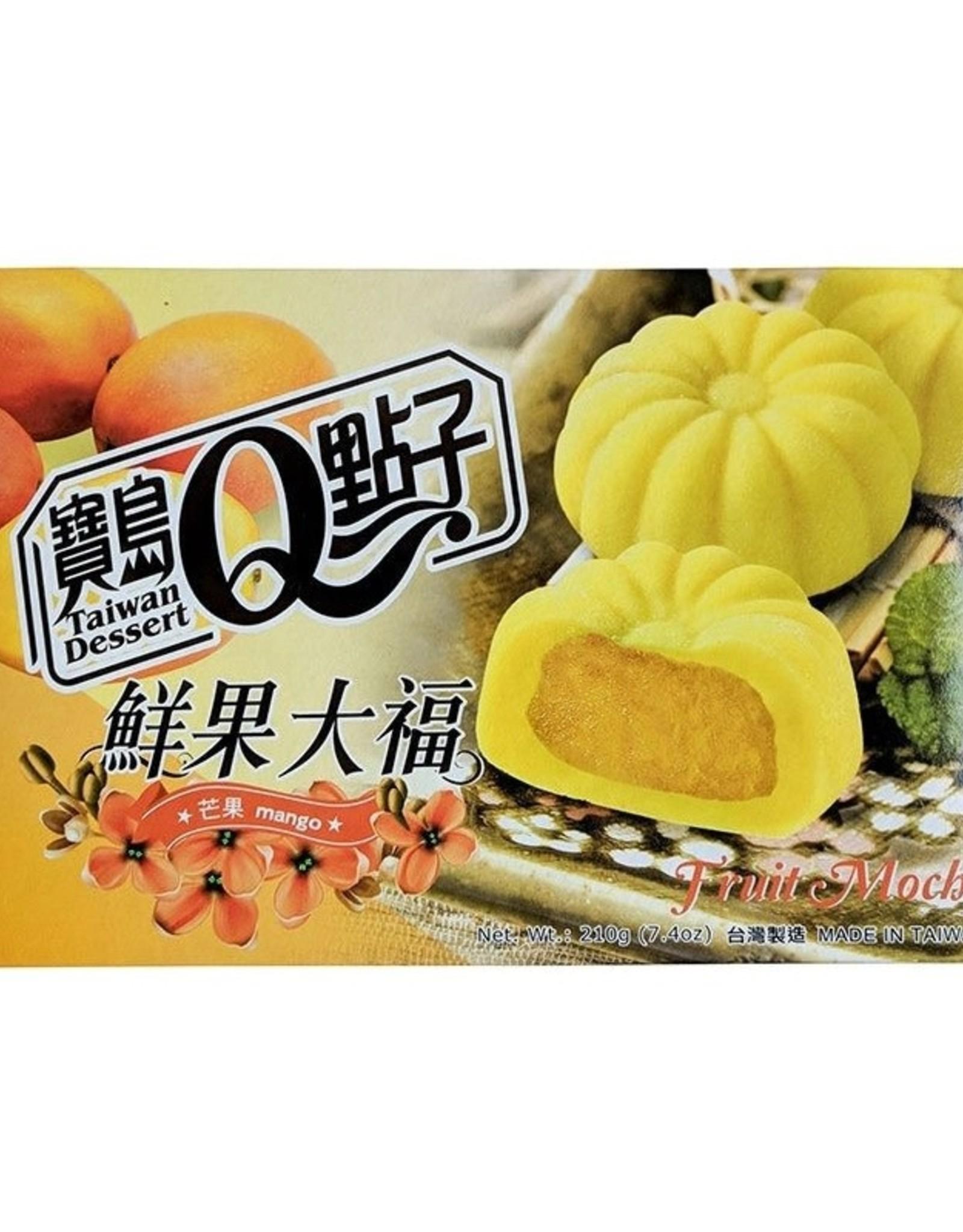 He Fong Fruit Mochi Mango 210g