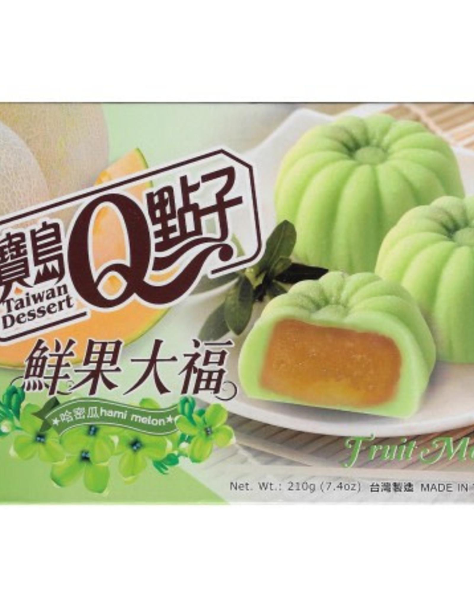 He Fong Fruit Mochi Hami Melon 210g
