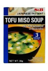 S&B Instant tofu miso soep S&B 30g