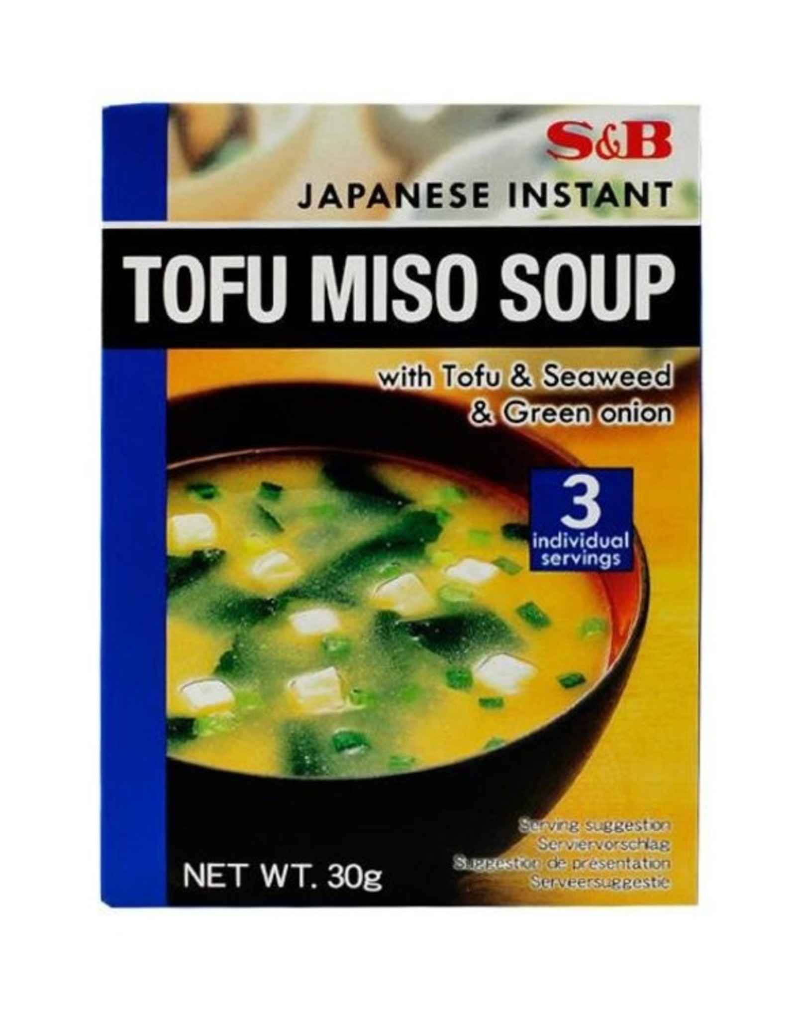 S&B Instant tofu miso soup S&B 30g