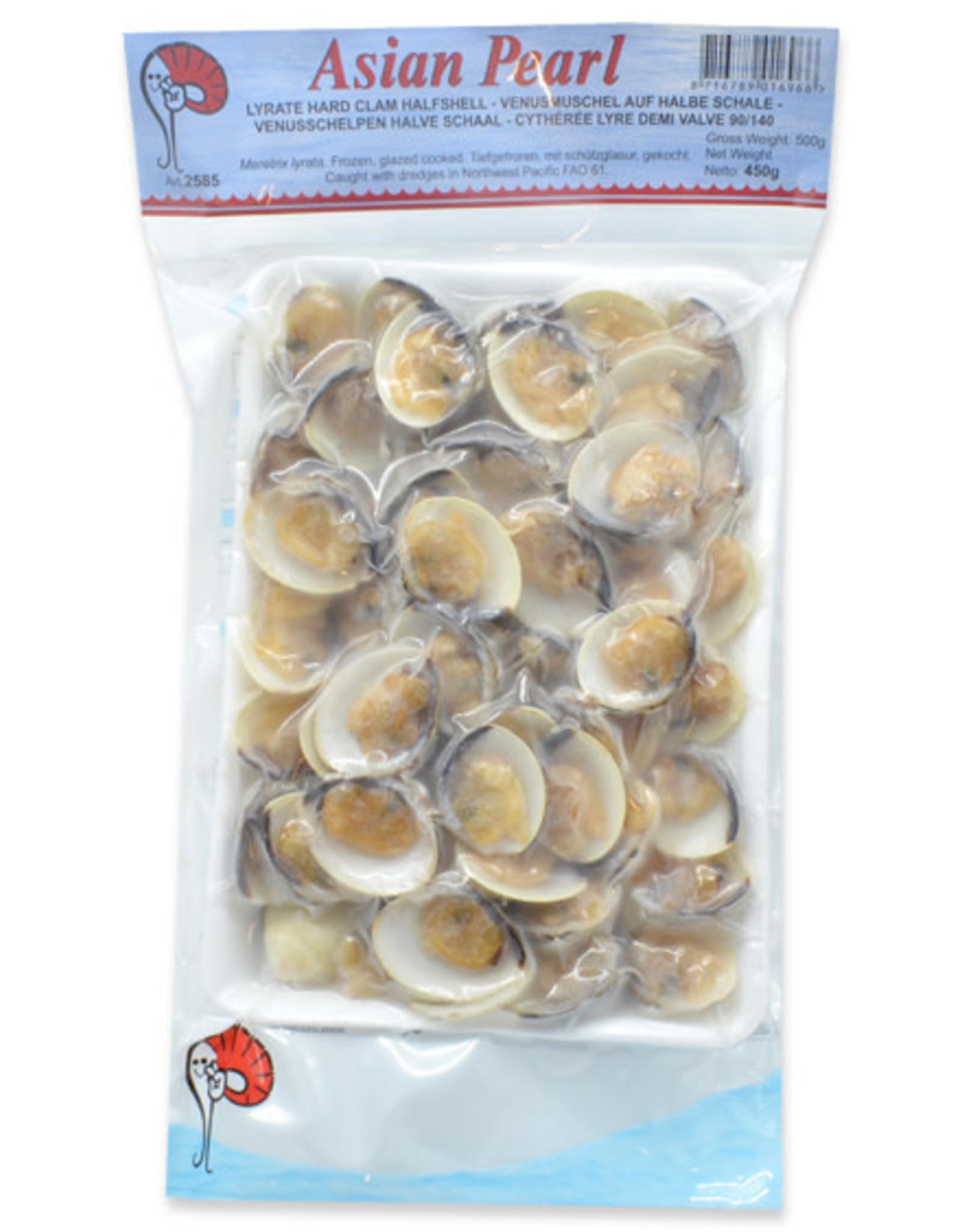 White Clam Half Shell 450g