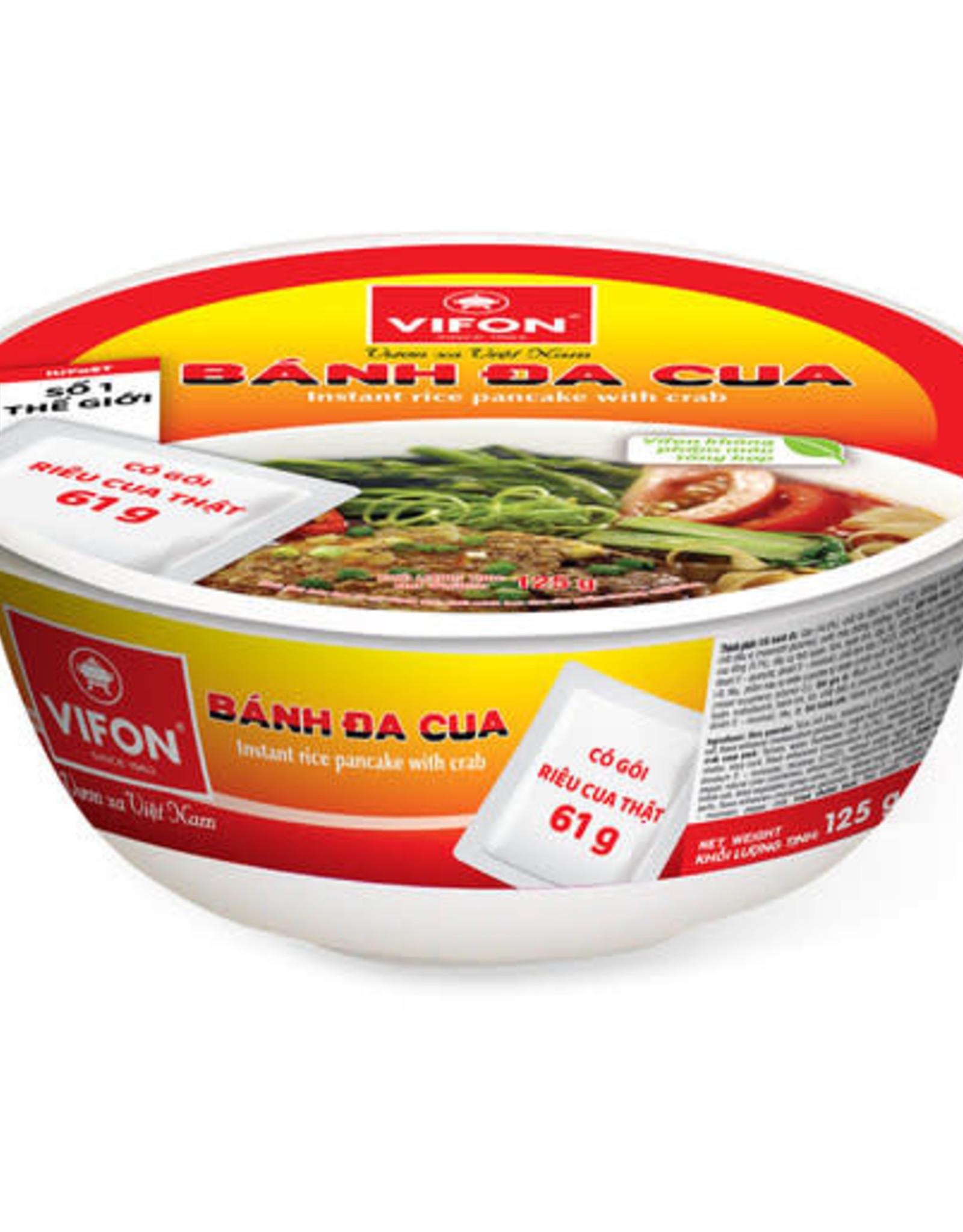 Bánh Đa Cua Bát VIFON  125g