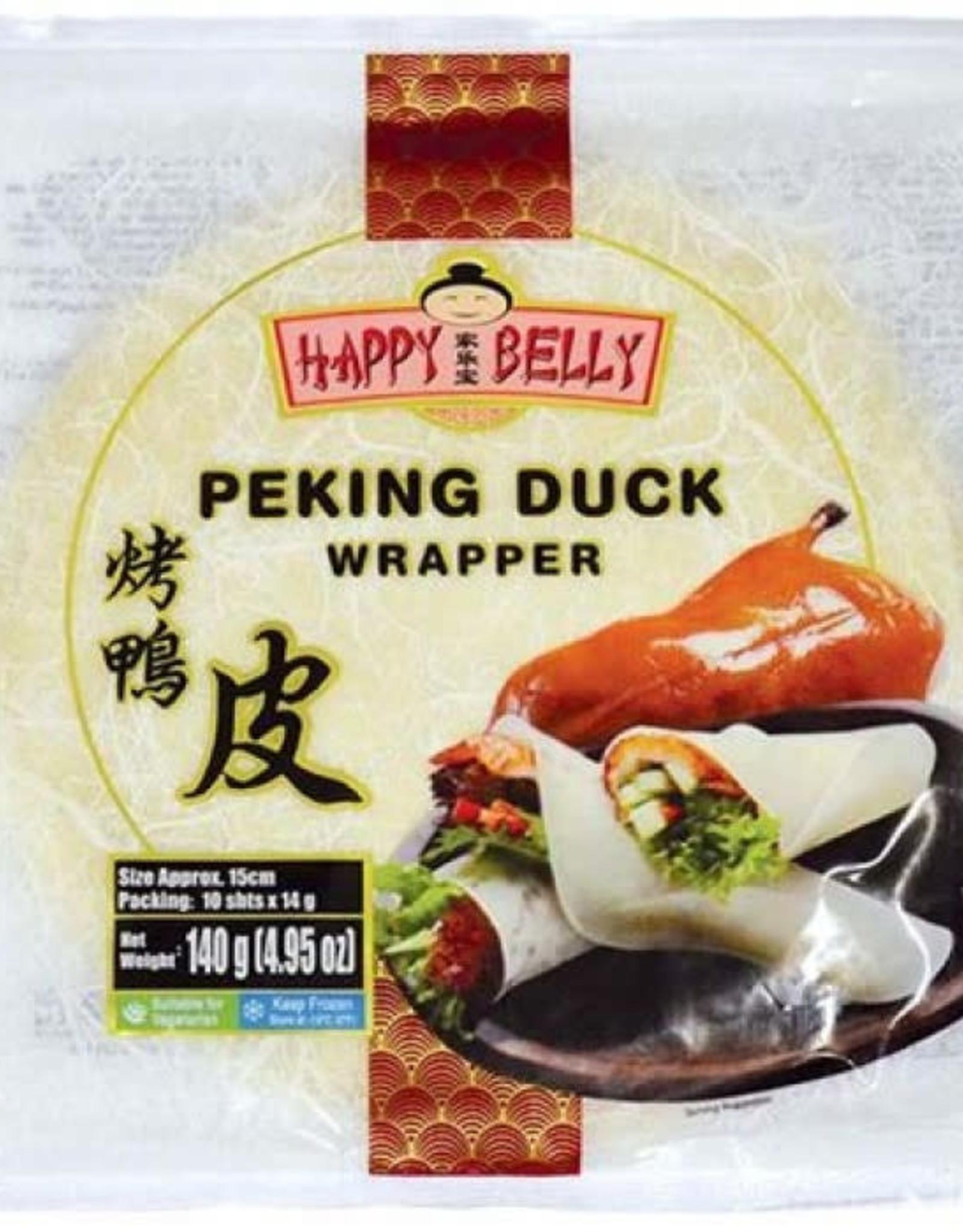 *Wraps f. Pek. Duck HAPPY BELLY pk 140g